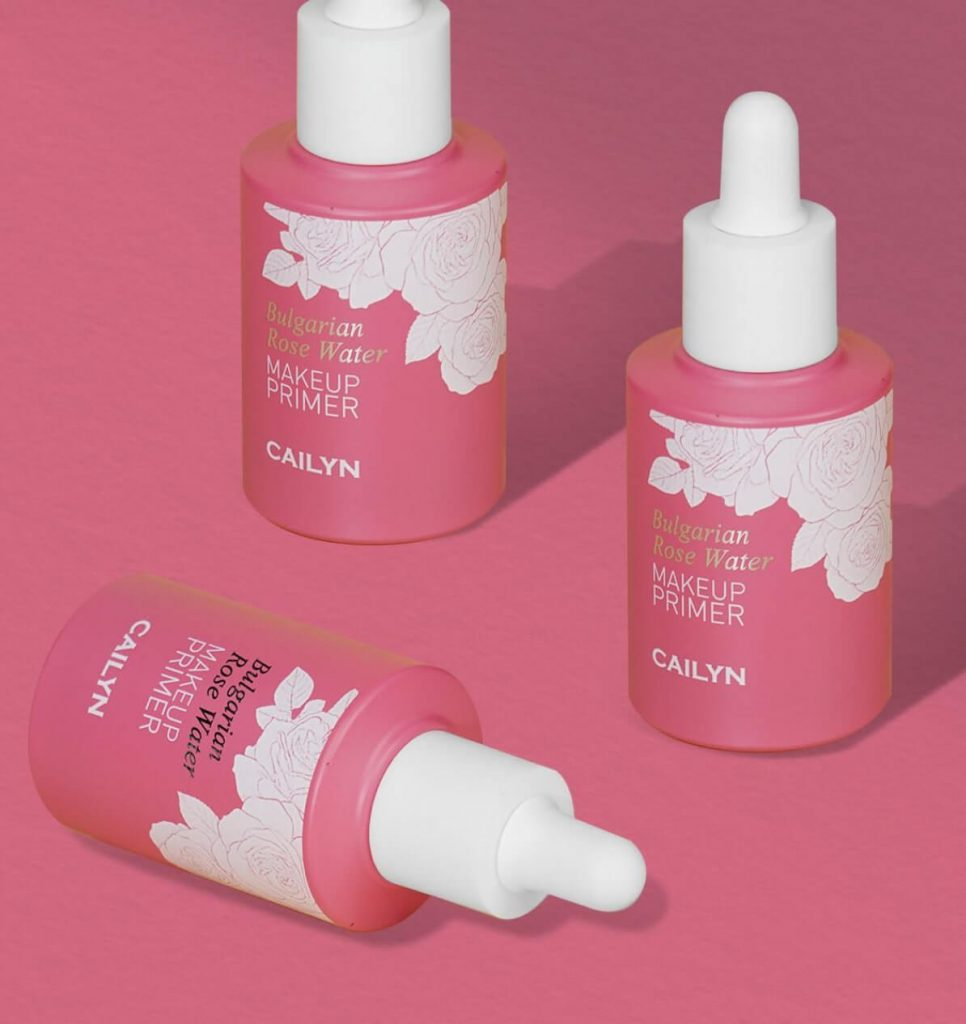 Neue Beaute Co Cailyn Cosmetics Bulgarian Rose Water Makeup Primer