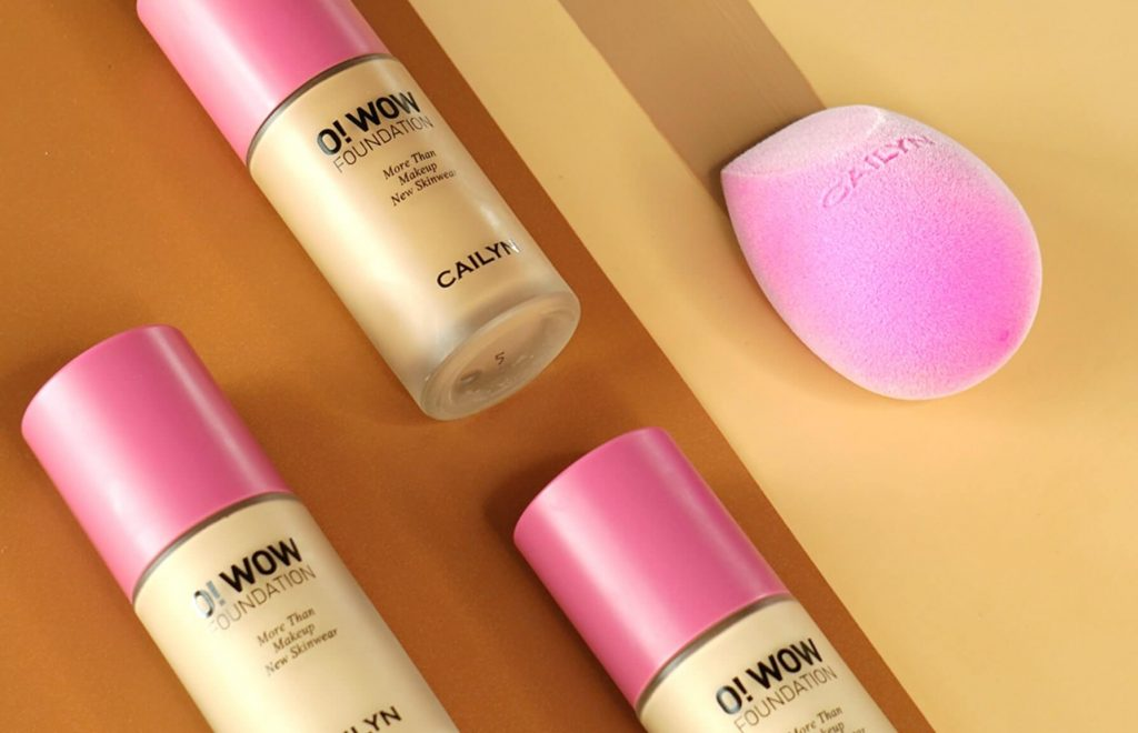 Neue Beaute Co Cailyn Cosmetics O WOW Foundation