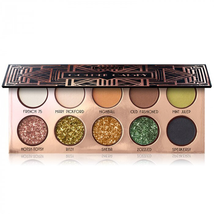 Golden Gatsby Glam Eye Shadow Palette